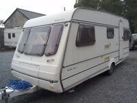 Compass Merit Reflection 510\5, 5 berth caravan with starter kit.