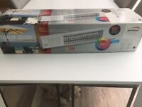 WALL CEILING MOUNTED INFRARED PATIO HEATER IN EXCELLENT CONDITION