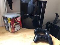 Play Station 3 80GB + games
