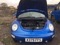 Volkswagen Beetle petrol spare parts
