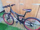 Dunlop Unisex Double Disc Brake & Double suspension Bicycle in New condition