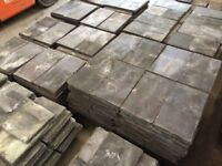 22 X 12 RECLAIMED GRADE A WELSH SLATE @ £1.75 EACH.