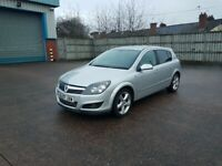 Vauxhall Astra Automatic Sri Model, long mot, low mileage for year, drives great