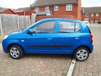 Kia Picanto, 1.0 petrol car, 5 manuel doors, gear stick, fantastic and reliable car