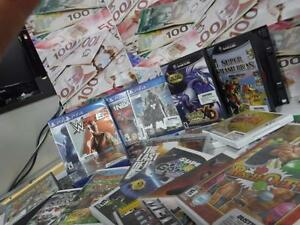 GameHypes is here at Busters Pawn Shop! WE TAKE GAMES FOR CASH! BRING US ALL YOUR GAMING GOODIES AND WE'LL GIVE YOU CASH