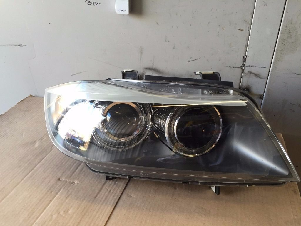 BMW E90 E91 M SPORT 2008-12 LCI DRIVER SIDE HEADLIGHT XENON