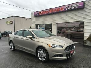 2016 Ford Fusion SE AWD LOW KMS FULLY LOADED ALLOY WHEELS SUN RO