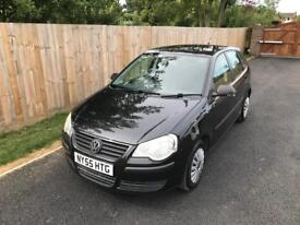 VW Volkswagen Polo 1.2 Black 2006 5 Door