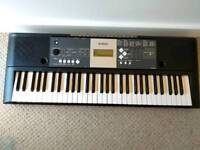 YAMAHA YPT-230 Portable Keyboard - Black
