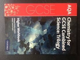 AQA Chemistry for GCSE Combined Science: Trilogy . Higher Workbook