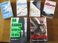 (6) D.I. REBUS BOOKS (IAN RANKIN) £8