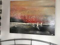 Origional Art by Sarah Berry - Sailing Today