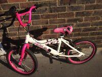 Girls 18 inch avigo bike...