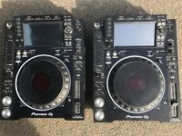 Cdj 2000 nexus 2 with djm 900 nexus