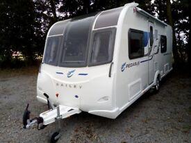 Bailey Pegasus Verona Touring Caravan 2016 , Showroom Condition