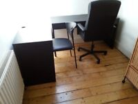 IKEA STUDENT OR OFFICE DESK ADJUSTABLE CHAIR SIDE TABLE WITH MATCHING CHAIR
