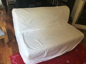 Two-seat sofa-bed £125