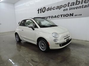 2012 Fiat 500C LOUNGE SPORT PACKAGE - DÉCAPOTABLE
