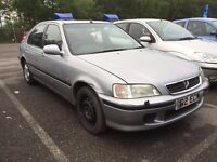 HONDA CIVIC 1.6 AUTOMATIC 5 DOOR HATCHBACK LEATHER EXCELLENT DRIVE LOW MILES MOT CHEAP CAR NO ACCORD