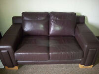 2 & 3 Seat Leather Sofas **Reduced Price to sell quickly*** - Airdrie