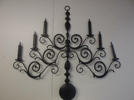 Garden Wall Art uk Candelabra Wall Art Garden