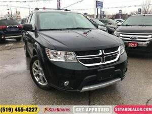 2016 Dodge Journey R/T | 7PASS | AWD | LEATHER | REAR AIR