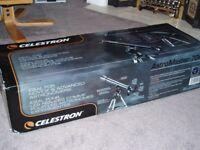 Celestron AstroMaster 70AZ, 70mm Refractor Telescope, Brand New Boxed