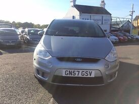 2007 FORD S-MAX ZETEC TDCI 6G SILVER 7 SEATER