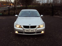 BMW 3 SERIES 318i ES 6 SPEED 4 DOOR SALOON SILVER CD PLAYER AUX LOW MILEAGE SERVICE HISTORY MOT