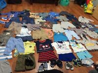 Baby boy bundle clothes
