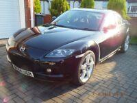 2004 Mazda Rx8 192Bhp in excellent condition
