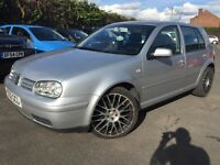 VOLKSWAGEN GOLF GT TDI 130, MOT AUGUST 2017