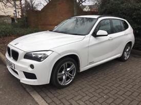 BMW X1 M sport XDRIVE 20D 185BHP white 39k similar to BMW X5 x3 3 series