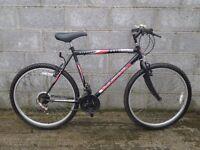 black mens bike 26''blowout universal