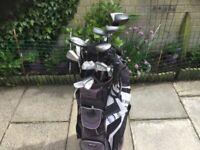 14 Golf Clubs. Various makes