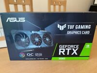 Asus RTX 3060 TUF gaming 12Gb OC edition ***Brand New, in hand***