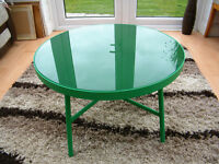 Beautiful Green Salsa Table for sale!