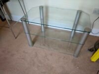 Glass Tv Stand/Unit