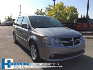 2016 Dodge Grand Caravan Crew Plus **CUIR, CAMERA, FULL EQUIPE**