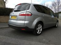 FORD S-MAX 2.0 TDCI TITANIUM. Top Spec, 7 seater, FSH, 6-Speed, 2-Keys
