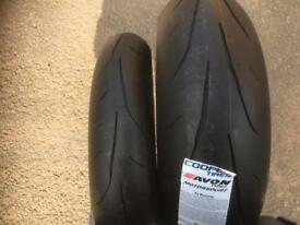 Motorcycle tyres new