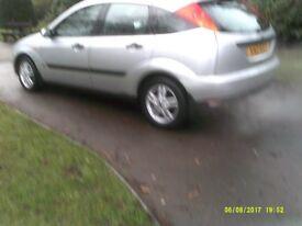 FORD FOCUS 5 DOOR H/B NEW MOT GOOD CAR