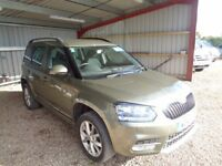 SKODA YETI 2.0 TDI CR DPF SE Station Wagon 5dr (green) 2014