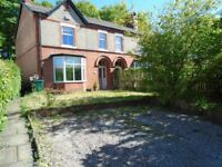 3 Bed beautiful home to rent in Chester with gardens and parking