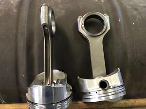 BBC Pistons and rods