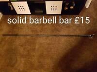 Mens health barbell