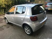 Toyota Yaris 2005 low millage ..cheap price £1250
