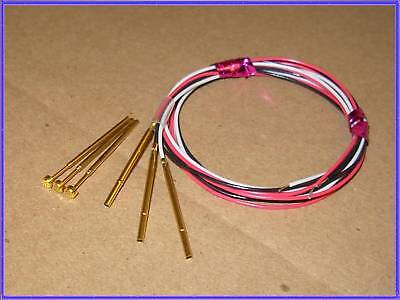 3 Sets Everett Charles Pogo-25 Pogo Pin W Receptacles