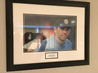 Sergio Garcia 2006 Ryder Cup Signed, framed Photo