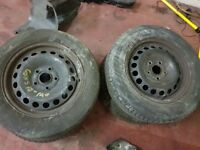 VW Golf 5 15 inch alloy wheels